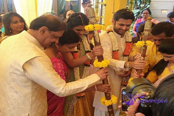 Actor Nithin marriage attend few persons Corona infection
