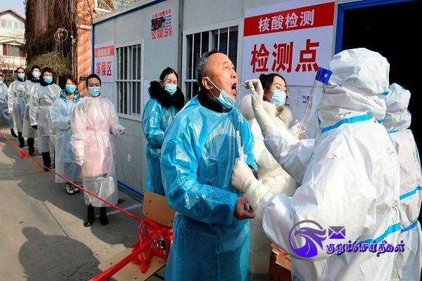 In China Confirmation of infection in 65 newcomers