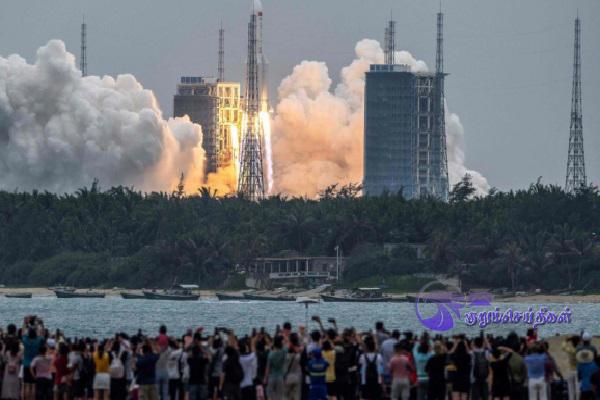 Chinese_Rocket_Segment_Disintegrates_Near_Maldives