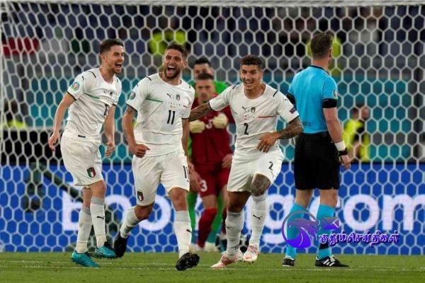 Euro 2020 Italy Convincing In 30 Win Over Turkey