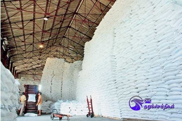 Sealed sugar warehouse opening without permission